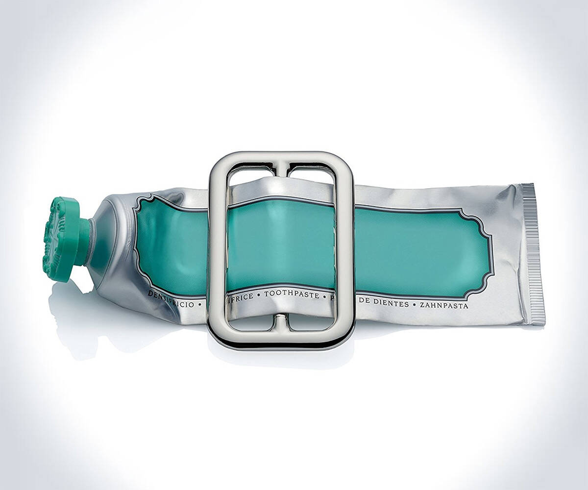 Alessi Toothpaste Buckle Squeezer - http://coolthings.us