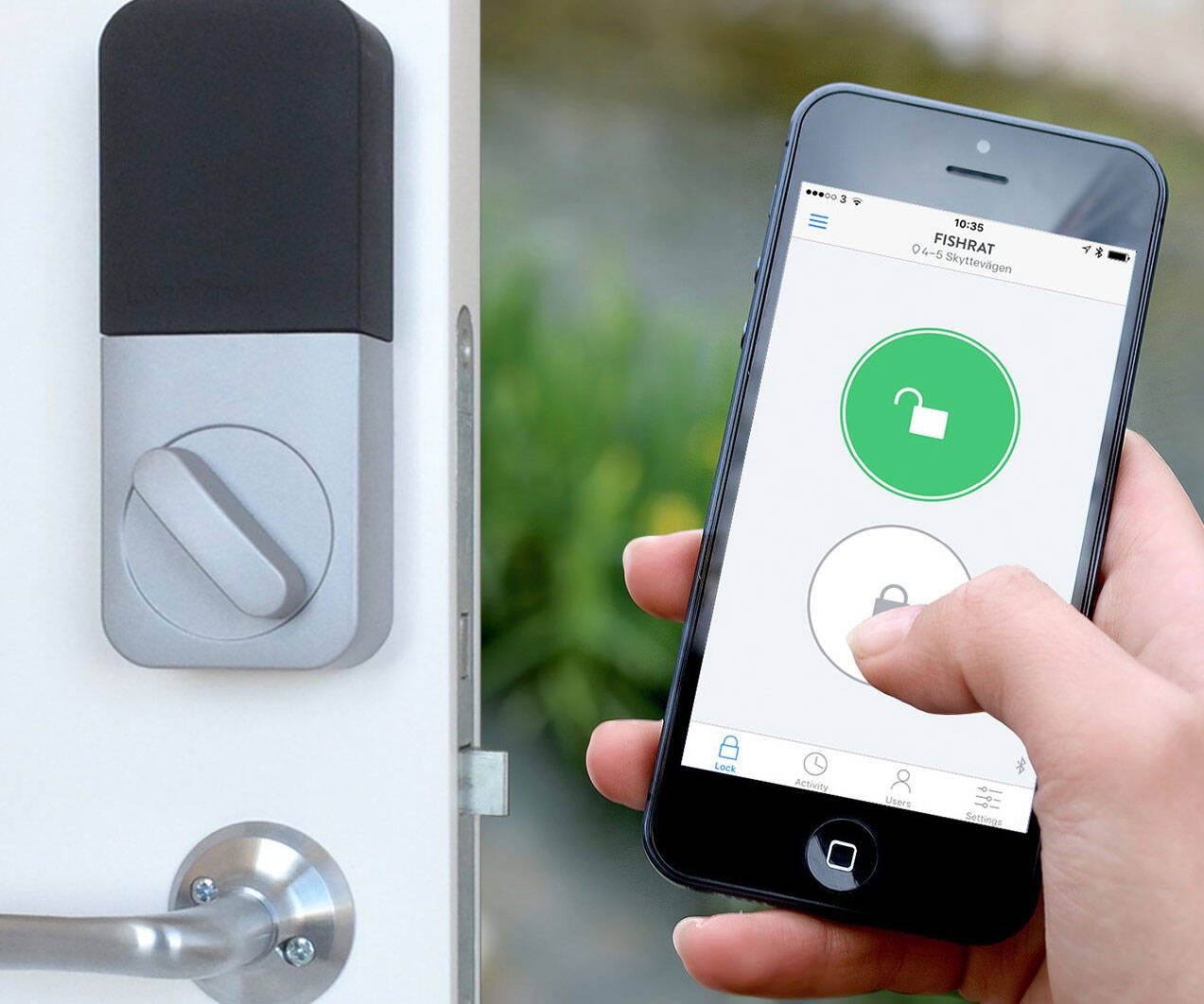 Lockitron Alexa Enabled Smart Lock - http://coolthings.us