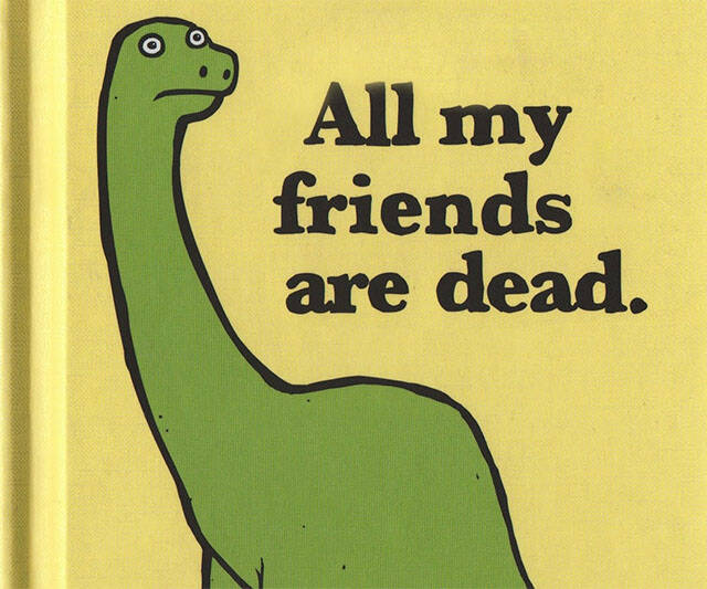 All My Friends Are Dead Kid's Book - http://coolthings.us