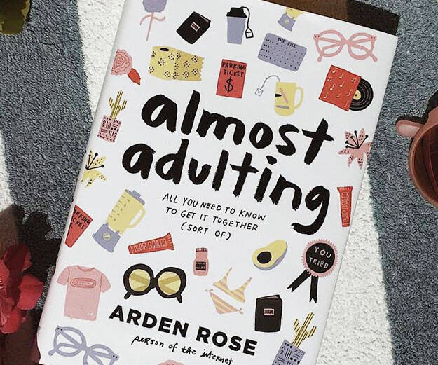 Almost Adulting Book - coolthings.us