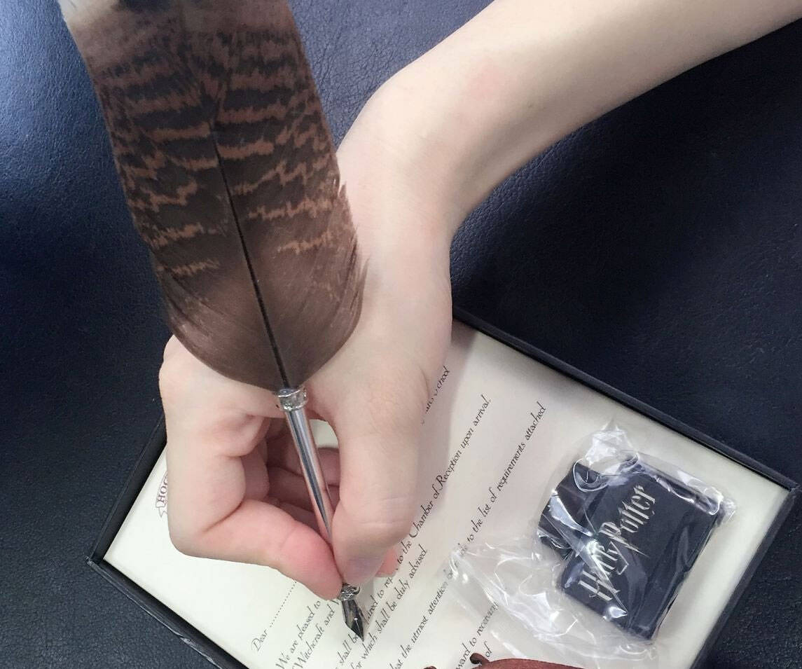 Antique Quill Calligraphy Pen - http://coolthings.us
