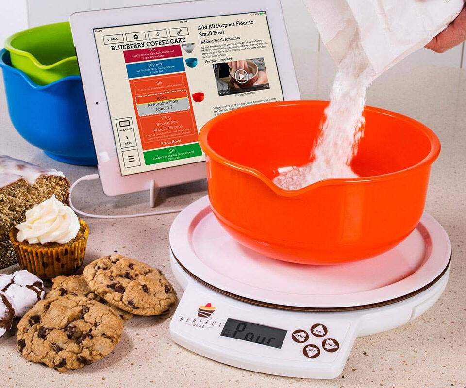 App Controlled Smart Baking Scale - http://coolthings.us