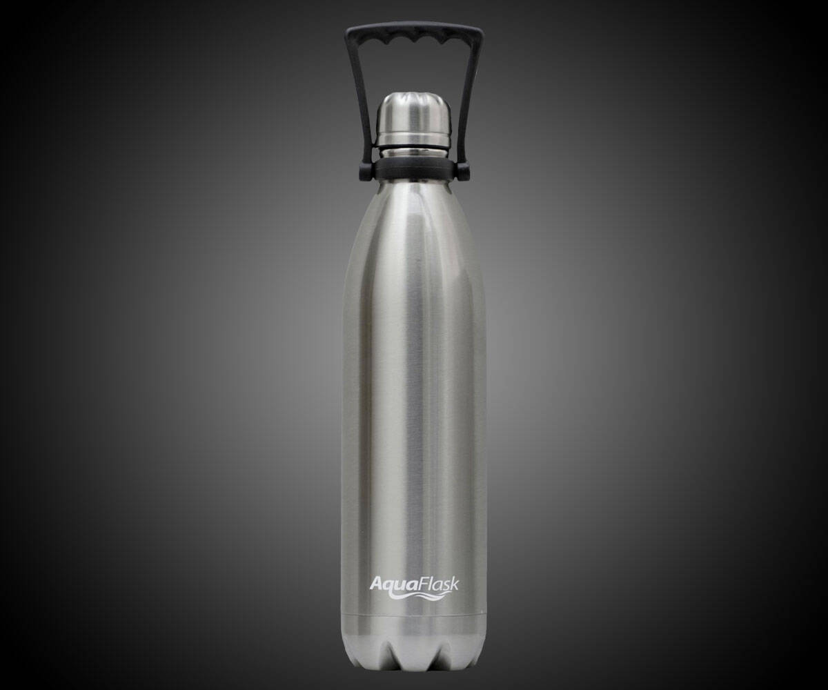 AquaFlask Insulated Stainless Steel Water Bottle - http://coolthings.us