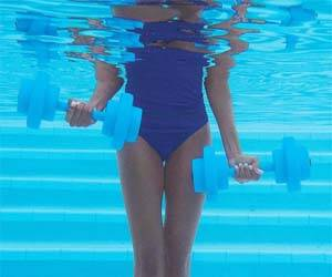 Aquatic Dumbbells - http://coolthings.us