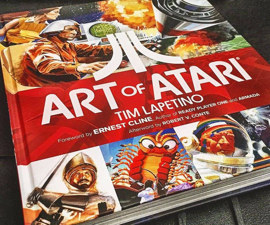 Art Of Atari Book - http://coolthings.us