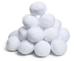 Artificial Snowballs - coolthings.us