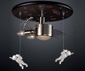 Astronaut Chandelier - http://coolthings.us