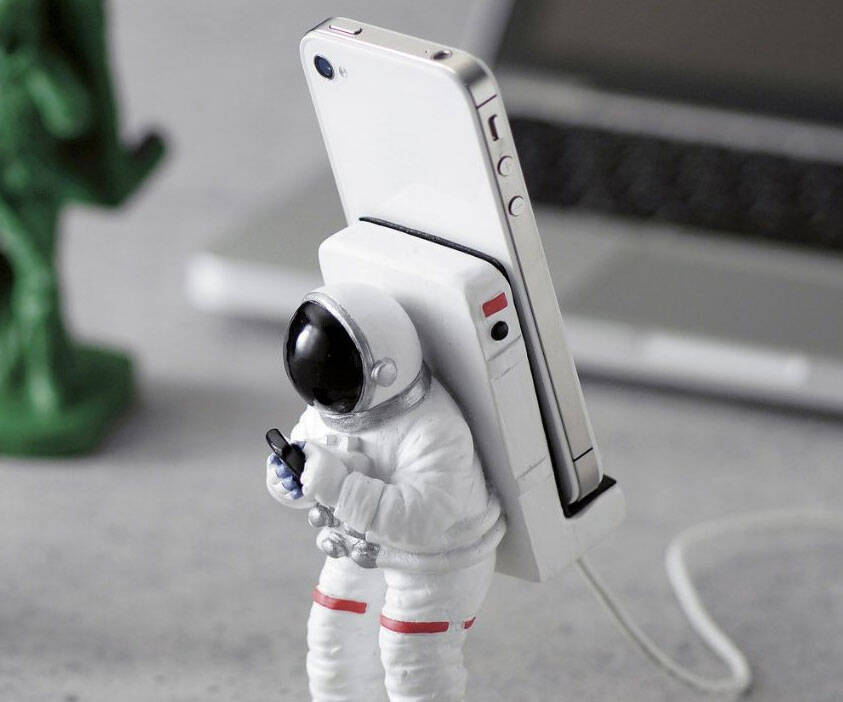 Astronaut Smartphone Mount - coolthings.us