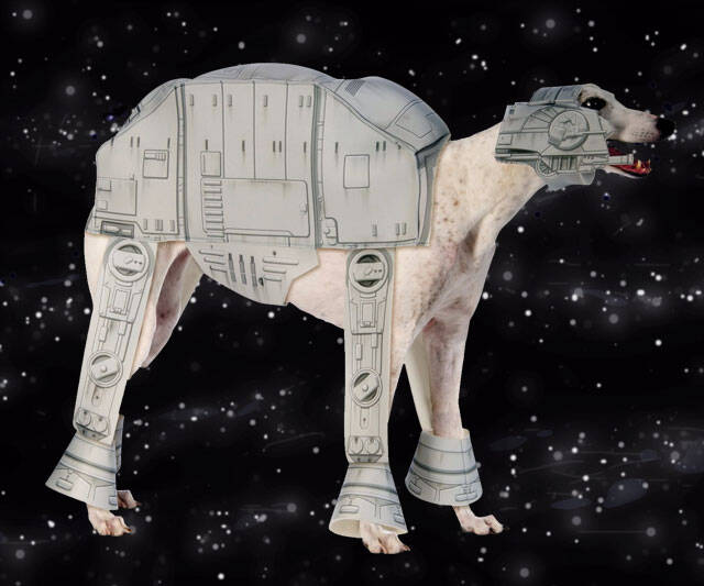 Star Wars AT-AT Dog Costume - http://coolthings.us