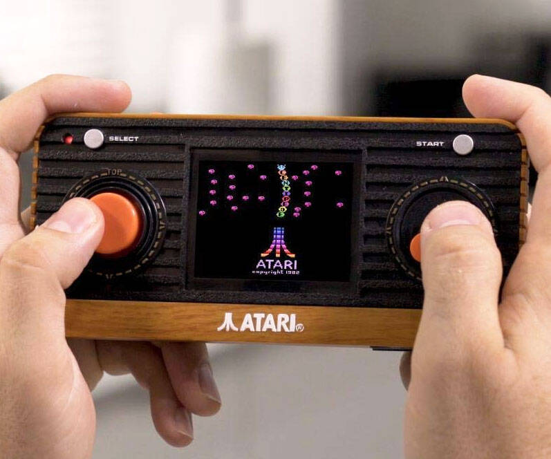 Atari Retro Handheld Console - http://coolthings.us