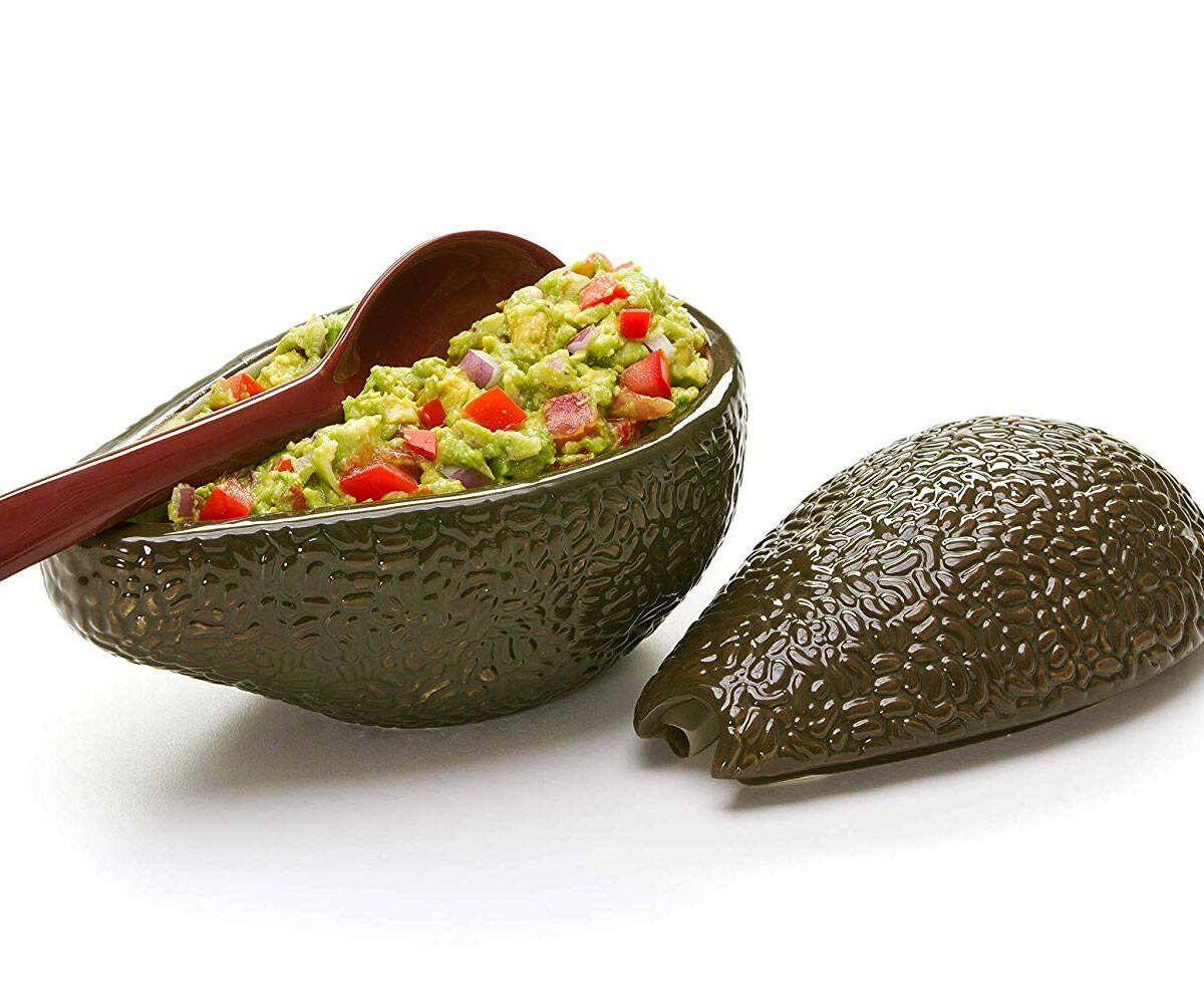 Avocado Shaped Guacamole Bowl