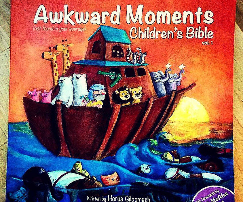 Awkward Moments Children's Bible - http://coolthings.us