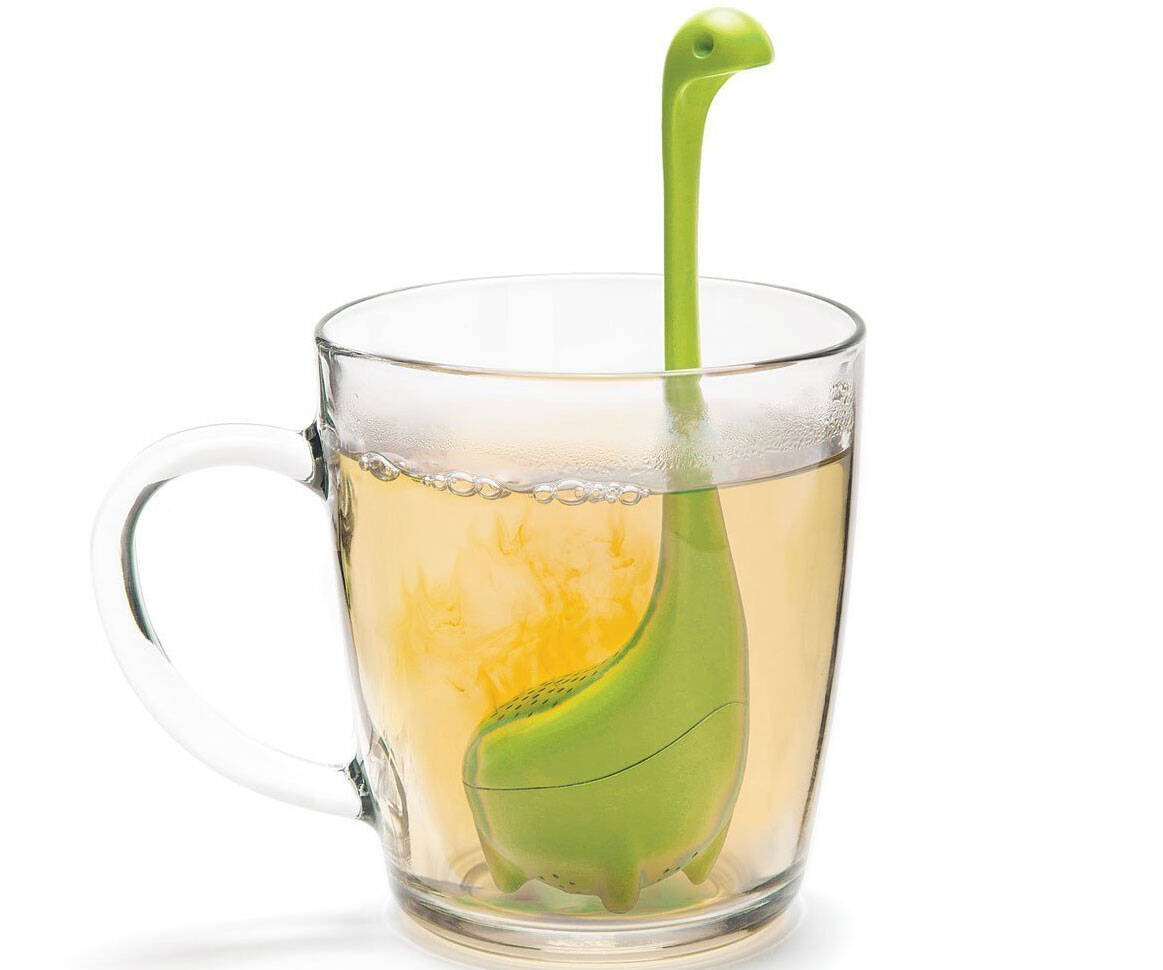Baby Nessie Tea Infuser - http://coolthings.us