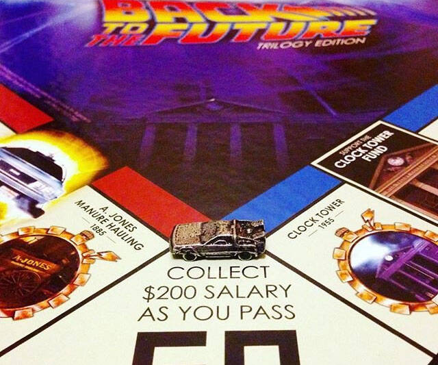 Back To The Future Monopoly - http://coolthings.us