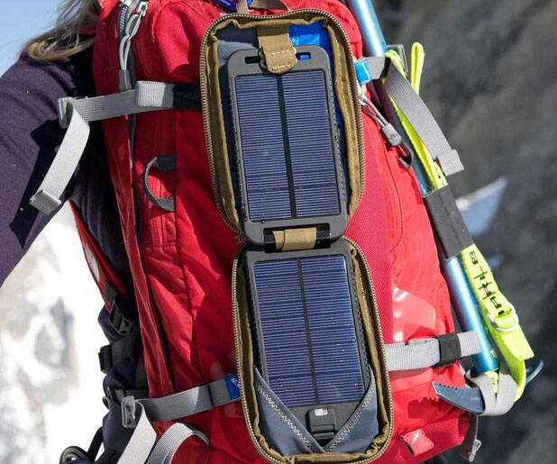 Portable Solar Powered Charger - http://coolthings.us