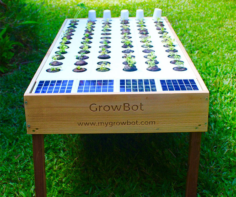Solar Powered Hydroponic Grow Box - coolthings.us