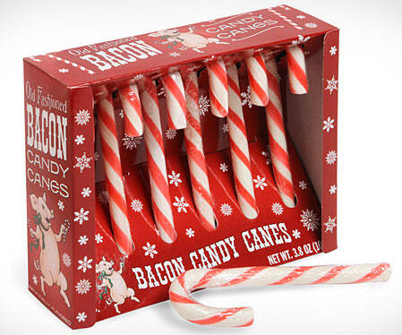 Bacon Candy Canes - http://coolthings.us