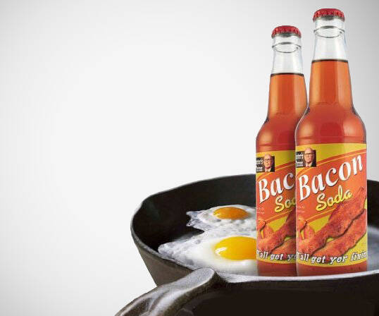 Bacon Soda - http://coolthings.us