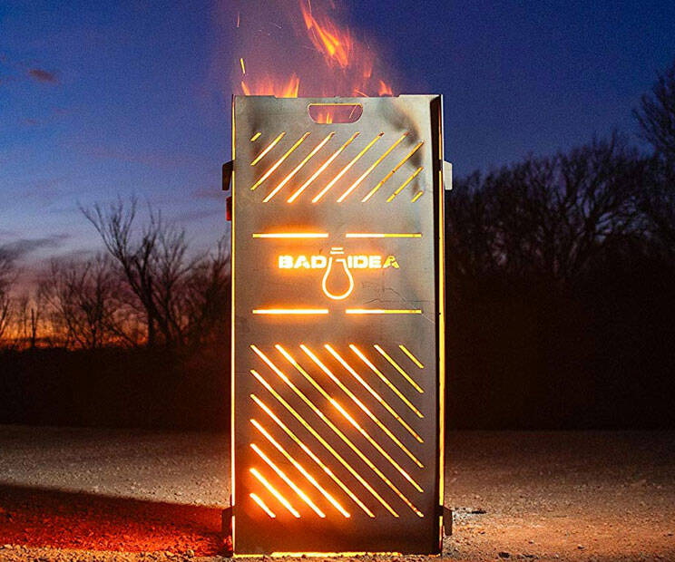 Pyro Cage Incinerator - http://coolthings.us