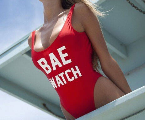 Bae Watch Swimsuit - http://coolthings.us