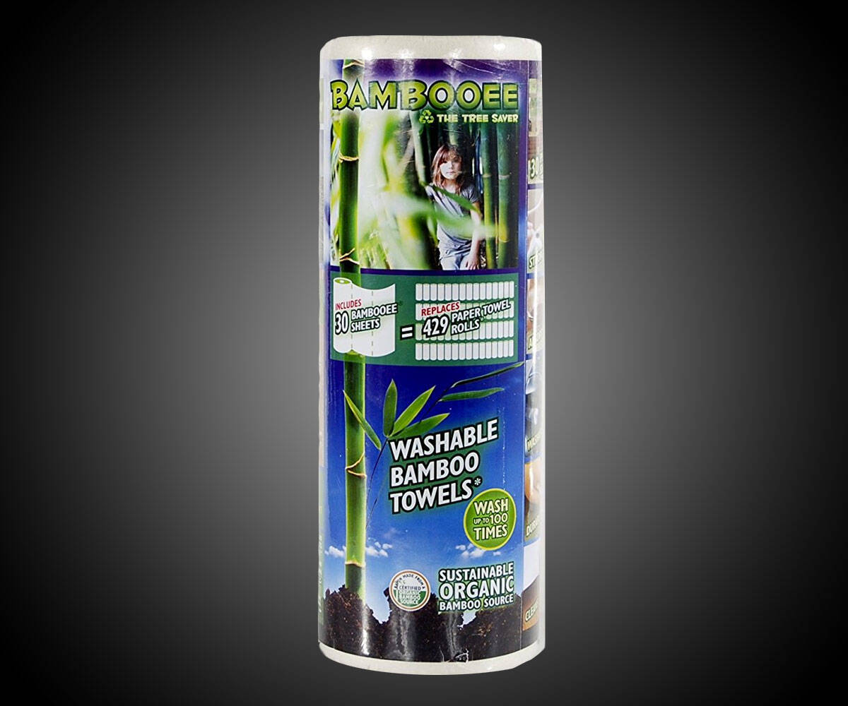 Bambooee Reusable & Washable Paper Towels - http://coolthings.us