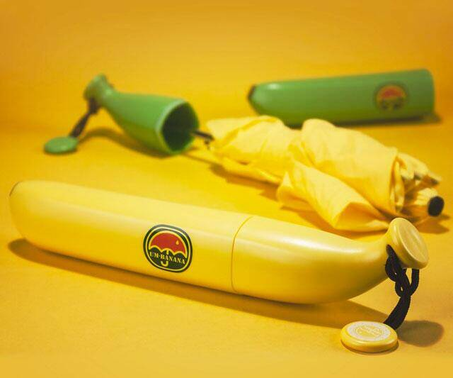 Banana Umbrella - http://coolthings.us