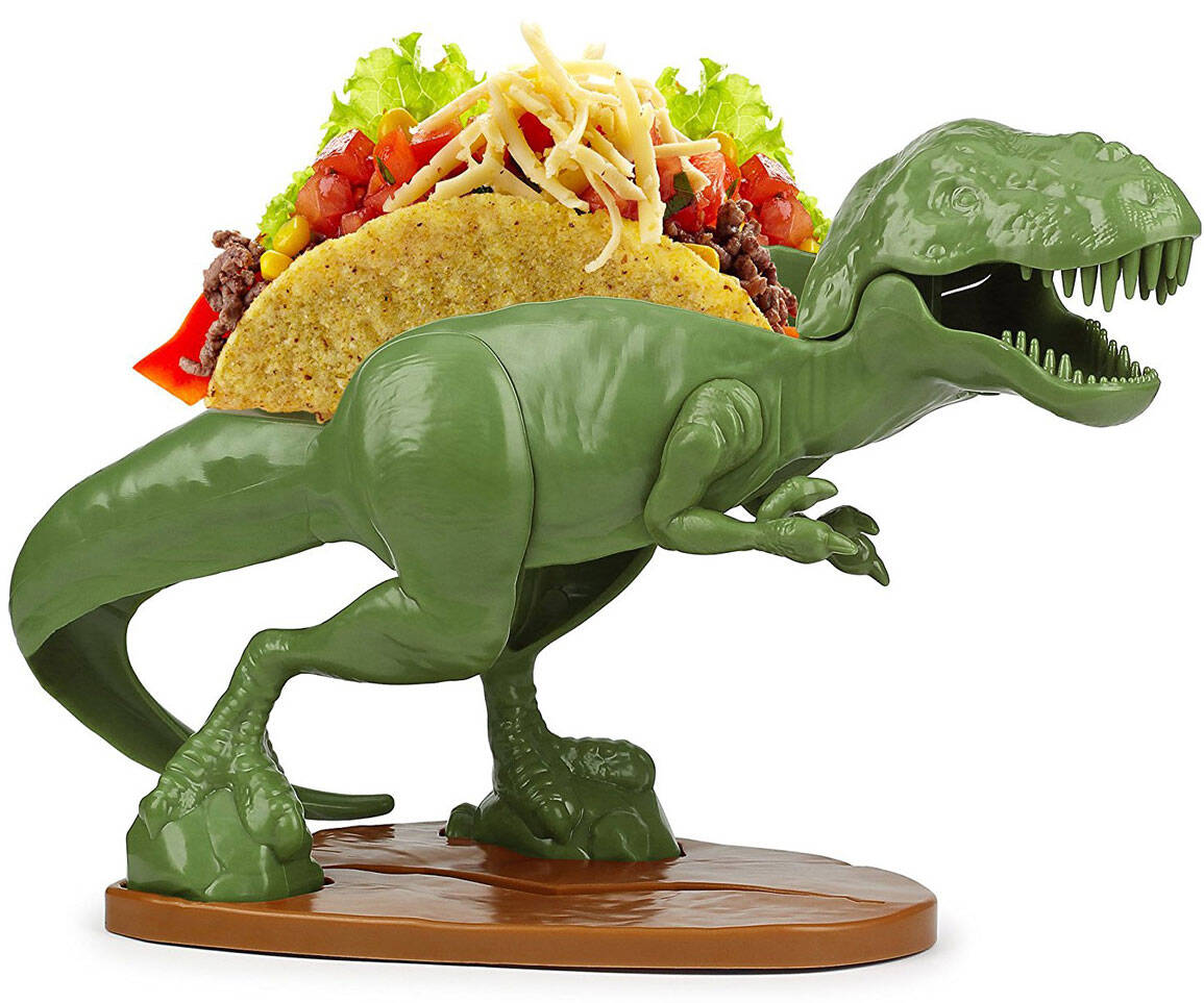 T-Rex Taco Holder - coolthings.us