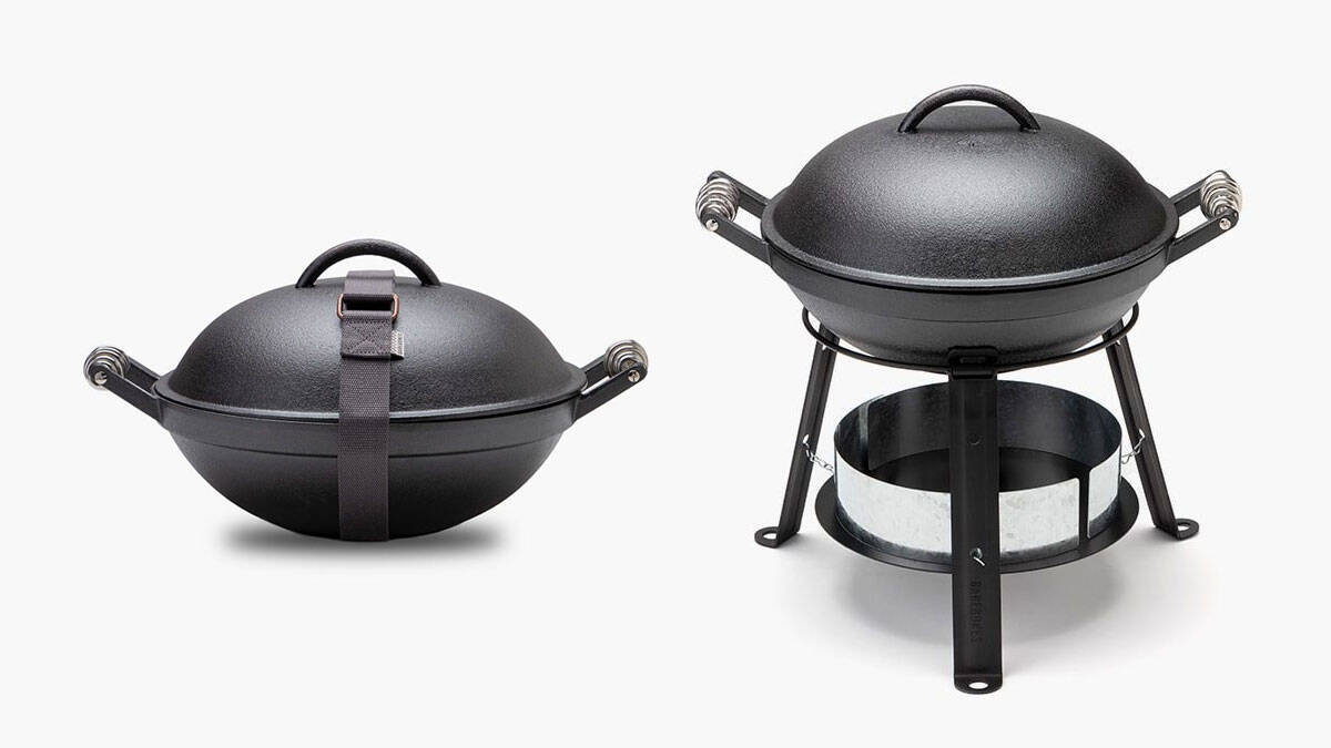 Barebones Living All-In-One Cast Iron Grill - http://coolthings.us