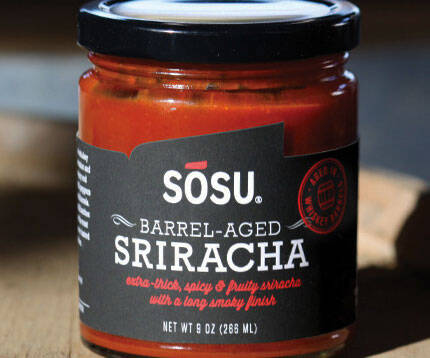 Barrel Aged Sriracha - http://coolthings.us
