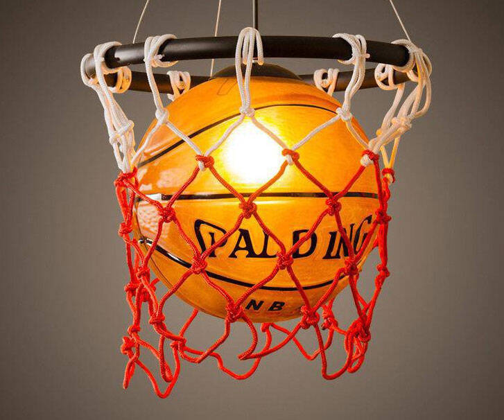 Basketball Pendant Hanging Light - http://coolthings.us