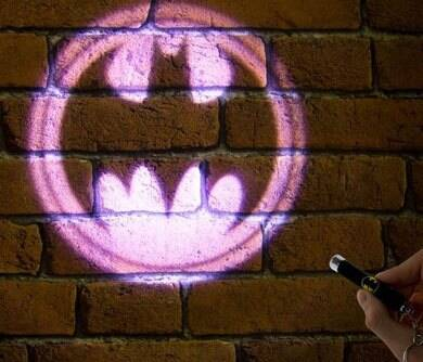 Bat Signal Projector Pen - http://coolthings.us