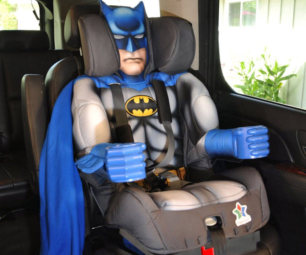 Batman Toddler Booster Child Car Seat - http://coolthings.us