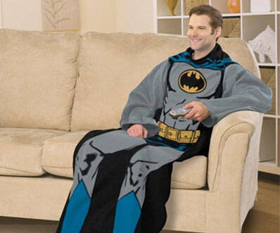 Batman Snuggie Blanket - http://coolthings.us