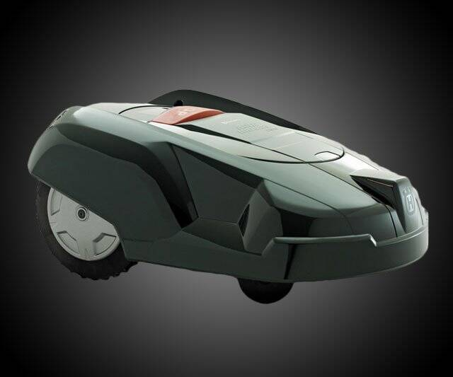 Batmobile Robotic Lawn Mower - http://coolthings.us