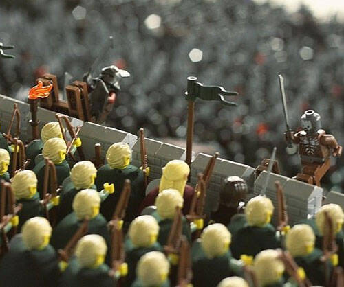 Battle Of Helm's Deep LEGO Set - http://coolthings.us