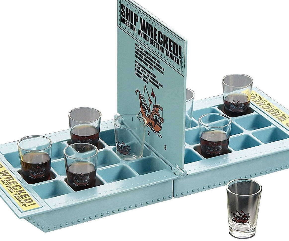 Battle Shots Drinking Game - http://coolthings.us