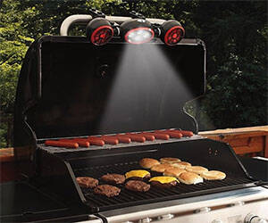 Barbeque Grill Light & Fan - http://coolthings.us
