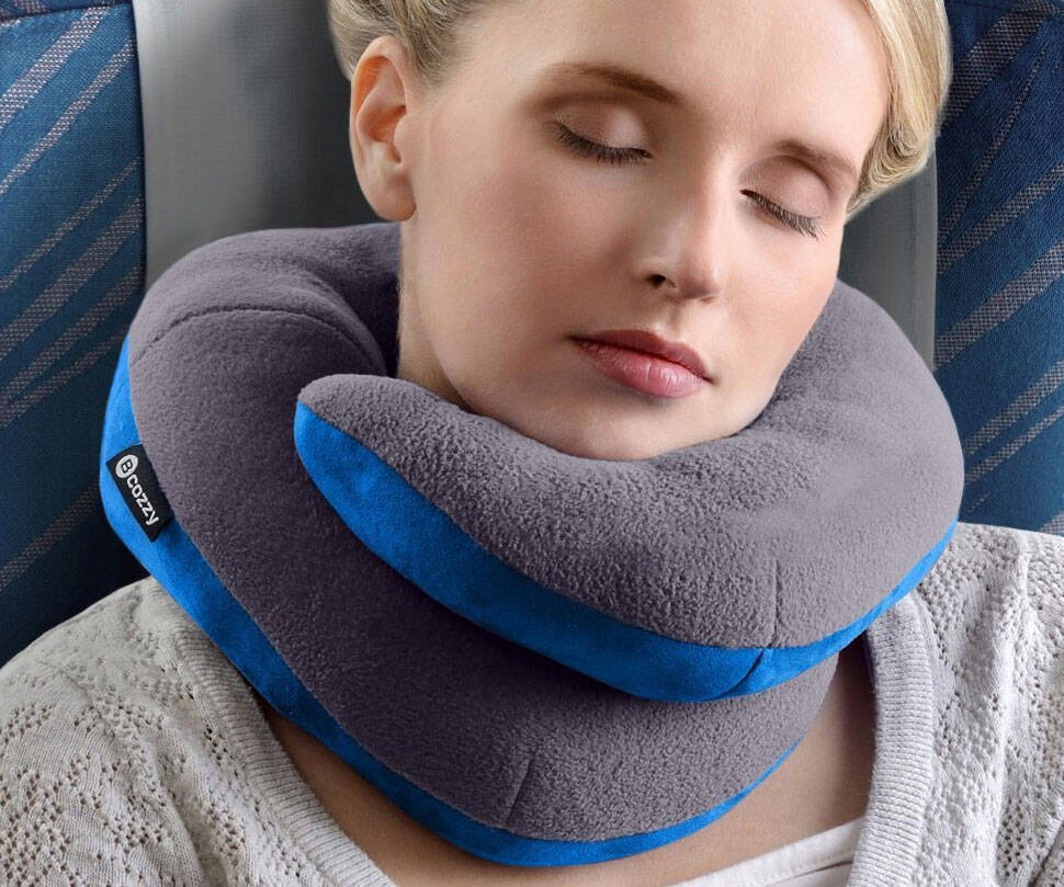 Chin Supporting Travel Pillow - http://coolthings.us