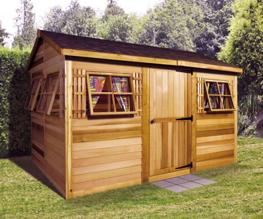 Beach House Garden Shed - http://coolthings.us