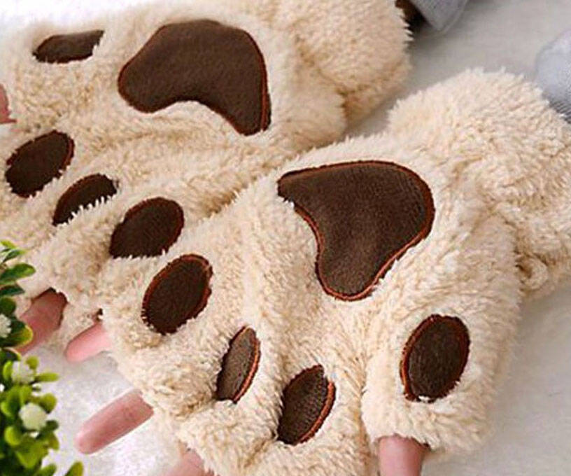 Cat Paw Gloves - http://coolthings.us