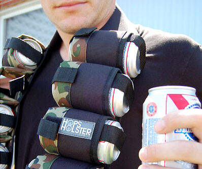 Beer Ammo Bandolier - http://coolthings.us