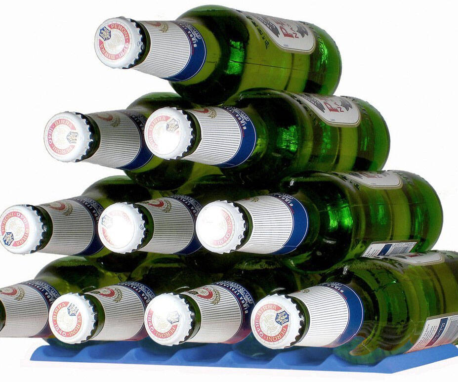 Beer Stacker Base - http://coolthings.us