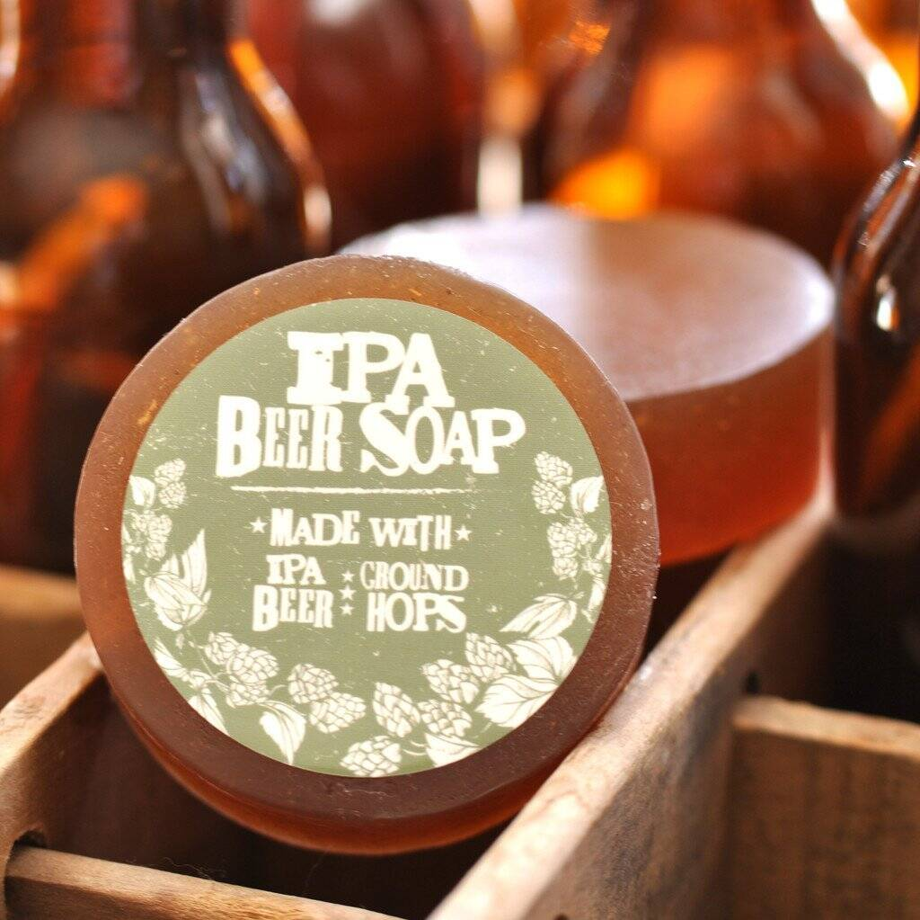 Beer Soap - http://coolthings.us