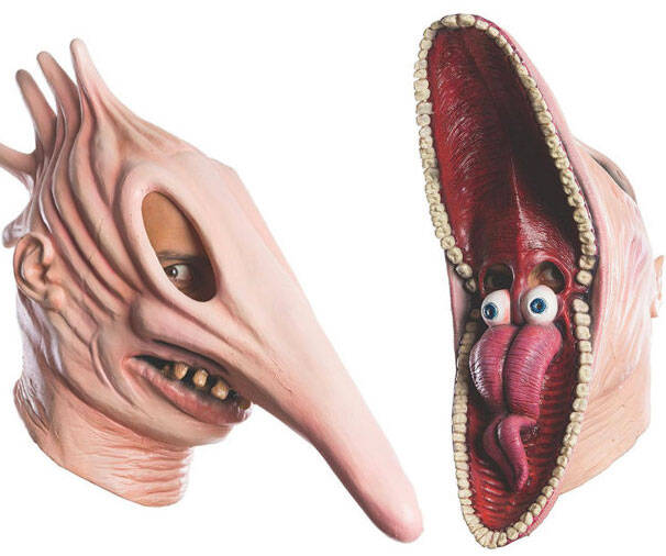 Beetlejuice Adam & Barbara Masks