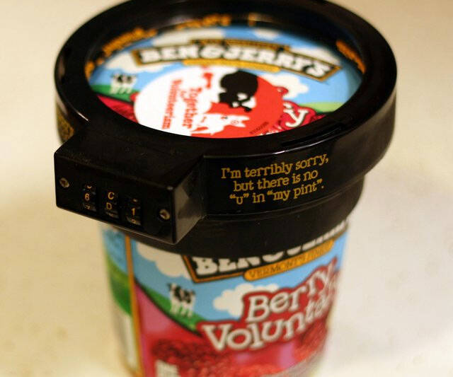 Ice Cream Lock - http://coolthings.us