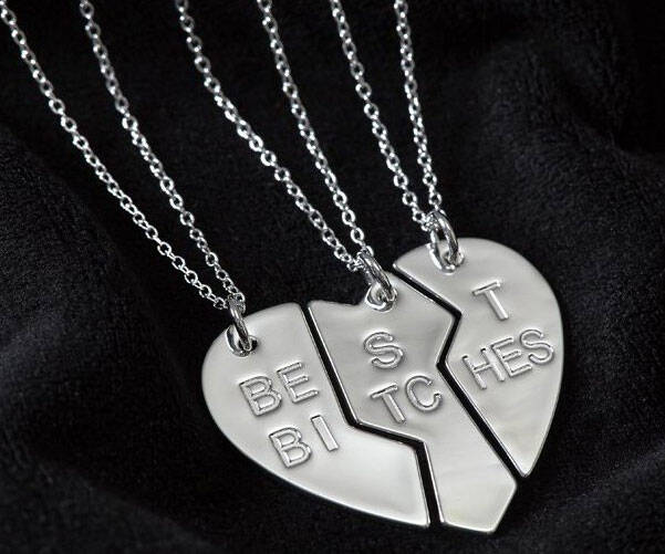 Best Bitches Pendant - http://coolthings.us