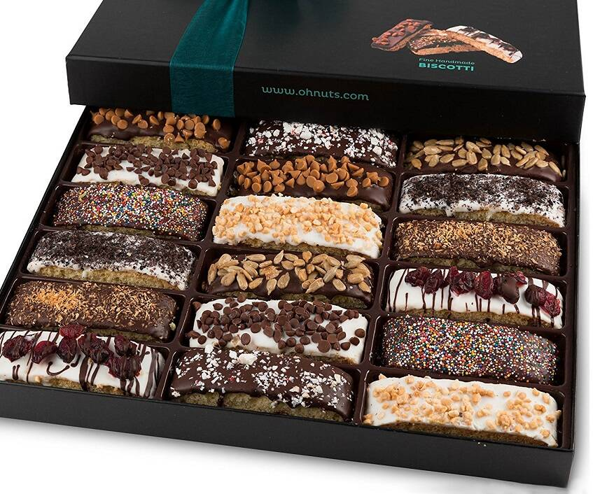 Biscotti Gourmet Cookie Gift Box - coolthings.us