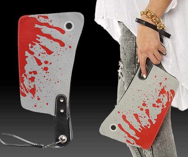 Bloody Cleaver Purse - http://coolthings.us
