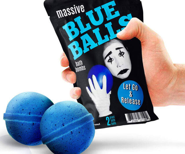 Blue Balls Bath Bombs - http://coolthings.us