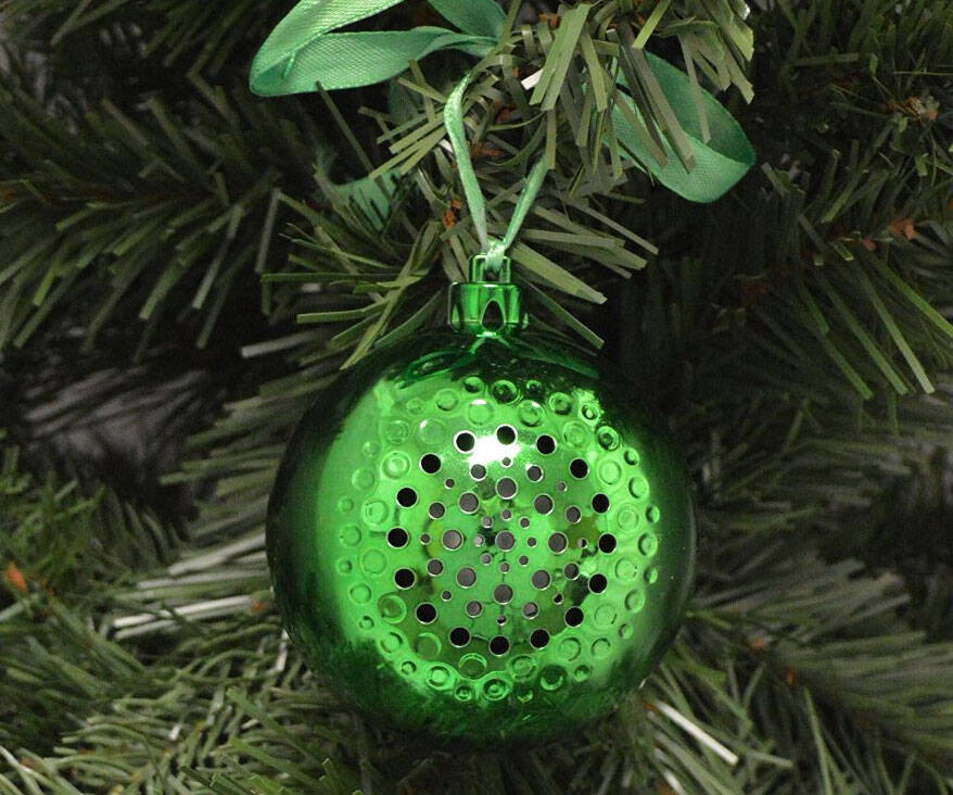 Bluetooth Speaker Christmas Ornament - http://coolthings.us
